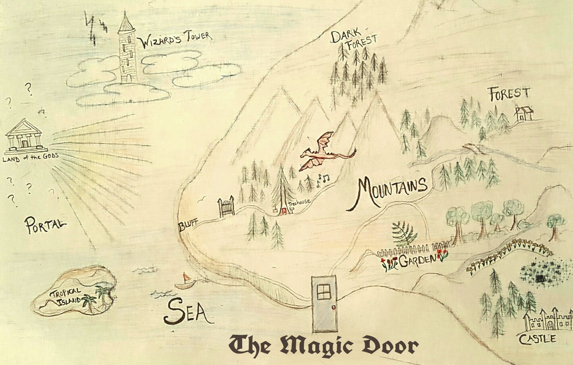 The Magic Door Map